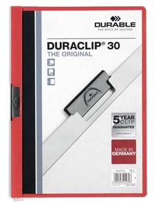 Obrázek Desky A4 Duraclip - kapacita 30 listů / červená