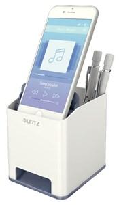 Obrázek Hudební stojánek na psací potřeby Leitz Wow - šedo-bílá