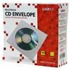 Obrázek Obálky na CD / DVD - bílé s okénkem / 100 ks