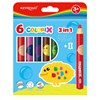 Obrázek Pastelky - akvarelové 3v1 - 6 barev
