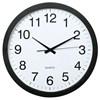 Obrázek Nástěnné hodiny Hama Jumbo tiché / černé / průměr 40 cm
